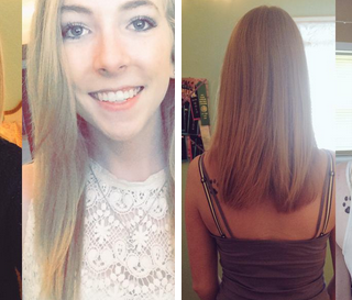 3 months of using @hairfinity wow this stuff really works