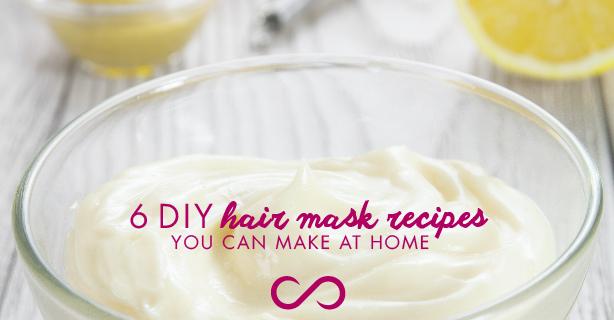 DIY Hair Mask Recipes You Can Make At Home