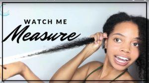 Hairfinity - Watch Me Measure