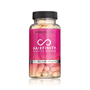 Start each day with Hairfinity Healthy Hair Vitamins to provide your hair with the building blocks it needs for a complete transformation. These supplements supply nutrients and minerals essential for healthy hair.