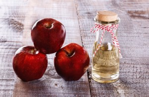 Apple cider vinegar for dry hair
