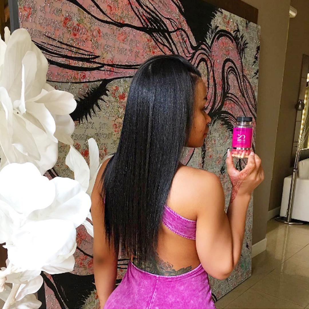 Hairfinity United States Blog Blac Chynas Hairfinity Hair Journey