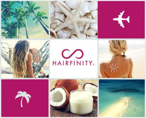 Hairfinity collage