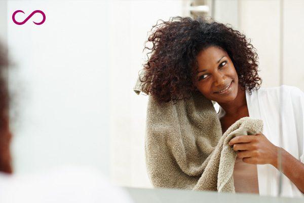 prevent hair damage after bath