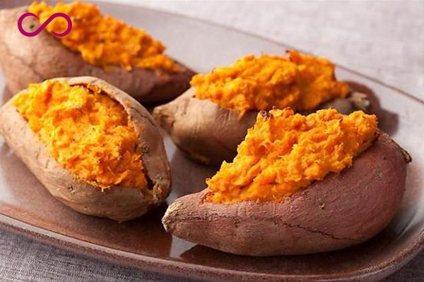 Sweet Potatoes Helps Hair Grow