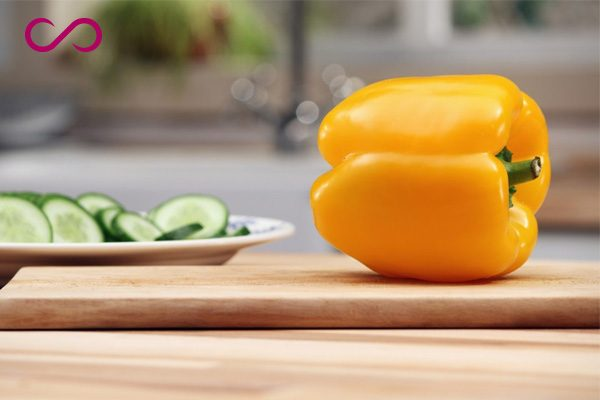 Yellow peppers Helps Hair Grow