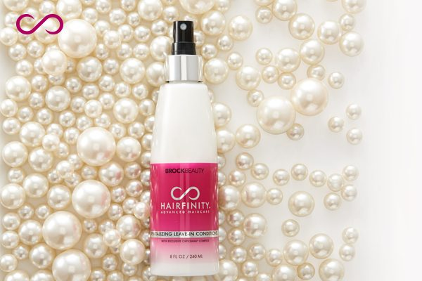 Hairfinity Revitalizing Leave-in Conditioner.