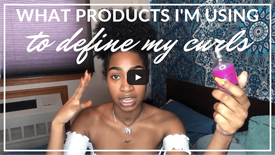 What Products I'm Using to Define My Curls