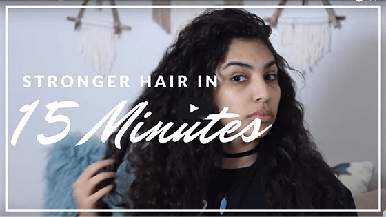 How to Get Stronger Hair in 15 Minutes!