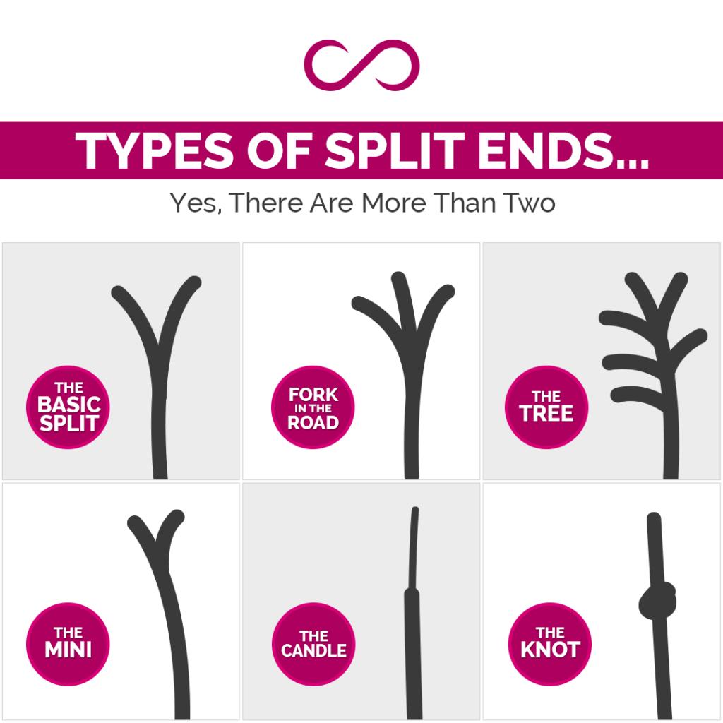 Types of Split Ends
